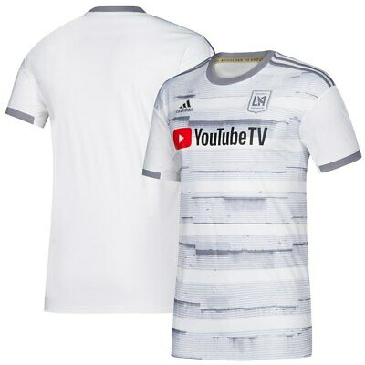 d6600baa0c2 adidas Los Angeles FC LAFC MLS 2019 Soccer Home Jersey White Kids - Youth