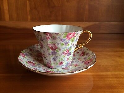 Royal Standard  Rose Chintz Tea Cup & Saucer set