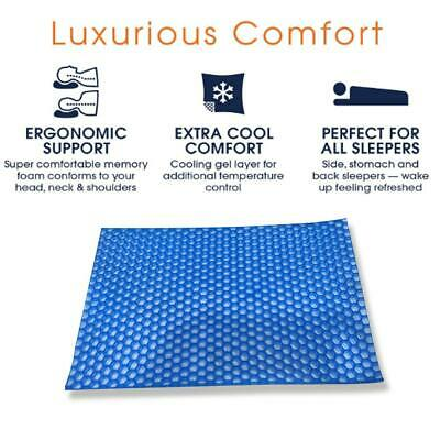 Memory Gel Pillow Summer Ice-cool Anti-snore Neck Sleeping Cushion Available