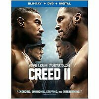 Creed 2 bluray only or dvd (read description) ships 3/5/19