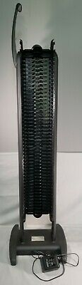 Sharper Image Power Tower 100 Motorized CD Storage Rack Carousel Collection Rare