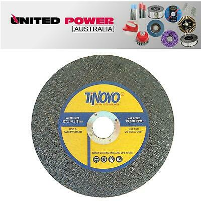 20 X 100mm (107MM) X 1mm METAL CUTTING DISC THIN STAINLESS STEEL ANGLE GRINDING