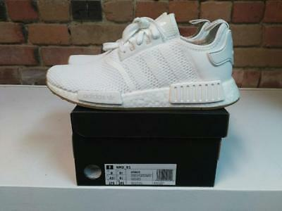 promo code efb5e e79a7 Adidas NmdR1 Boost Shoes Style D96635 Color Whitewhitegum