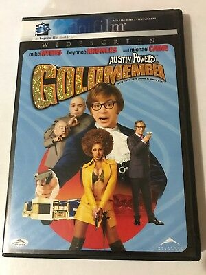 Austin Powers In Goldmember Dvd 2002 Widescreen Canadian Mike Myers