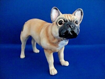 John Beswick French Bulldog (Fawn) Pampered Pooches Series New Boxed JBPP1FAW