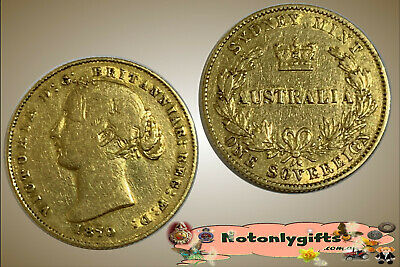 1870 Sydney Mint Sovereign. A decent coin with no major problems. F/gF