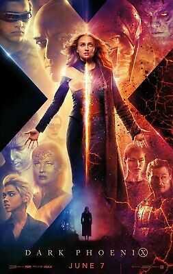 "X-Men Dark Phoenix Poster 48x32"" 40x27 36x24"" Movie Film 2019 X Men Print Silk"