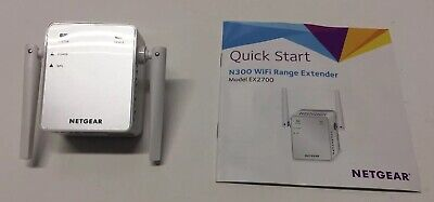 Home Networking & Connectivity Netgear N300 Network Range Extender Repeater 802.11n Wn3000rpv2 Wifi C06 #s1902 Sale Price
