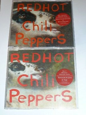 Red Hot Chili Peppers By The Way Rare Uk 2 X Cd Singles Set, Ex Cond (2002)