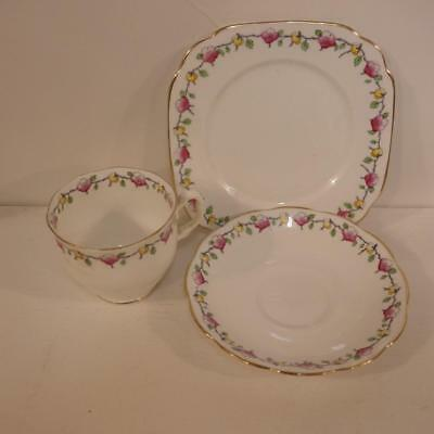 Vintage Royal Albert trio,cup saucer & plate,pattern 7501,1929,countess cup