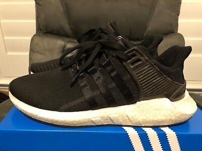 more photos 08445 6e9db adidas EQT Support 9317 Milled Leather Black Size 10 BB1236