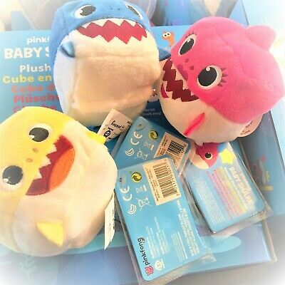 WowWee Pinkfong Square Shark Official Doll Plush English Song Authentic Tags NEW