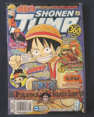 SHONEN JUMP, IN unopened wrapping: Vol 4, Issue 9, No  45 Sept  2006