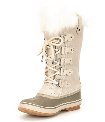 83eda4a3fb81 NIB Sorel Joan of Arctic Faux-Fur-Trim Boot Fawn Color Retail for  190