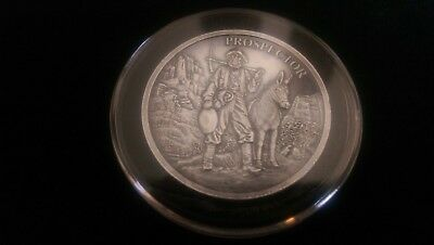 Provident Metals Prospector 1 Troy Oz 999 Silver Antique Finish