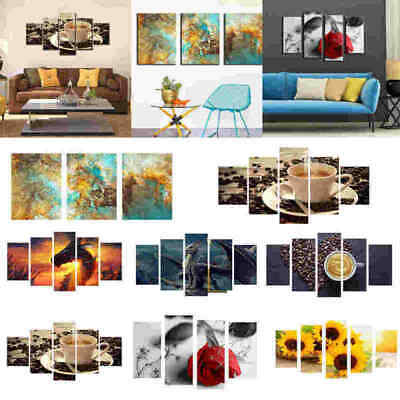 3D Modern Art Oil Painting Art Print Picture Home Room Wall Decor Unframed THB