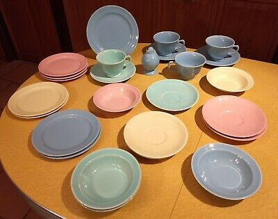 Vintage Luray Pastels TS&T Taylor Smith & Taylor Mixed lot Excellent Condition