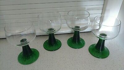 Set of 4 Classic MCM French Wine Glasses By LUMINARC