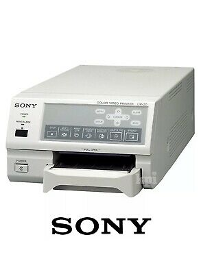 New Sony UP-20 Thermal Printer - Analog Color A6 Video Print for Ultrasound
