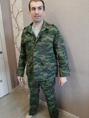 US 44 Russian army uniform suit Flora camouflage color VSR 93 size 54 height 3