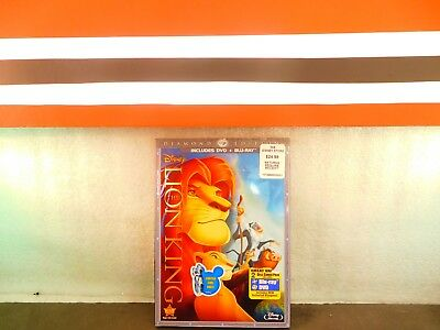 The Lion King Blu-ray/DVD 2-Disc Set, Diamond Edition Combo Pack DVD