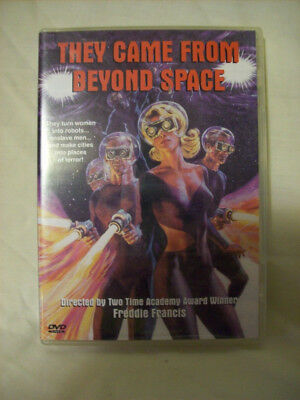 They Came From Beyond Space (DVD, 2000) by Freddie Francis New