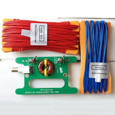 BNC Interface Antenna Circuit Board+cable Unbalance 40m-10m UNUNTENNA Practical