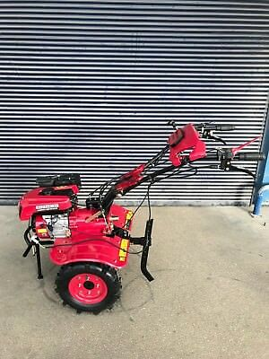 Cultivator Tiller Motoblock Tractor Rider 900C 7.5HP with wheels and ploughs New