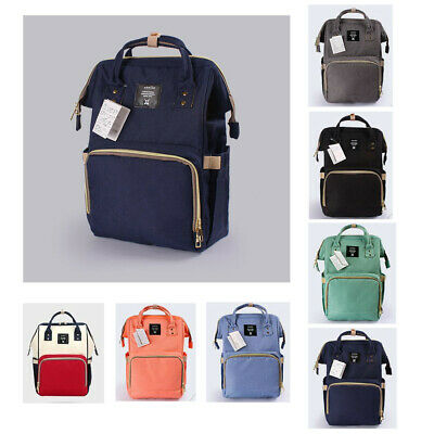 anello Baby Diaper Nappy Mummy Changing Bag Backpack Multi-Function Large Travel