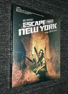 Escape from New York Blu-ray [VERY RARE] Korea Import SLIPCOVER Edition Limited#