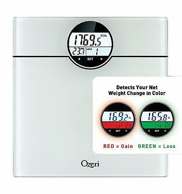Ozeri WeightMaster (440 lbs / 200 kg) Bath Scale with BMI, BMR and 50 Gram