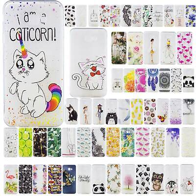 Silicone Phone Case Painted Cover For Samsung Galaxy J4 J6 2018 J4 Plus J6 Plus