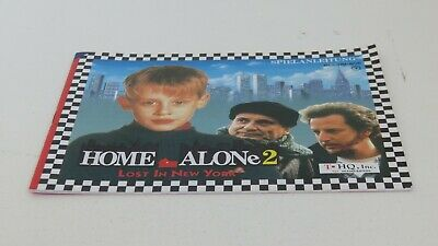Home Alone 2 - NES manual only