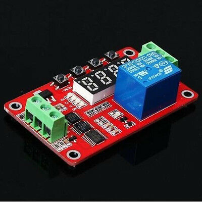 1 pcs FRM01 Multifunction Self-lock Relay Cycle Timer Module PLC Delay 12V