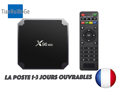 X96mini Android 7.1 Smart TV Box 2.4GHz WIFI Quad Core 4K Lecteur Multimédia