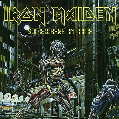 Iron Maiden Somewhere In Time Cd Remastered - Pre Release 29Th March 2019