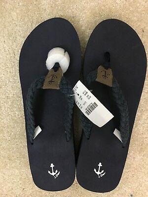 eca1cd13f9d9 NWOT J CREW ANCHOR FLIP FLOP SANDAL WOMENS SIZE 10 Star Fish -  9.99 ...