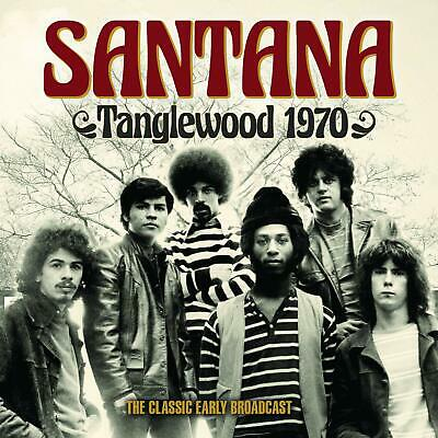 SANTANA 'TANGLEWOOD 1970' (The Classic Early Broadcast) CD (2019)