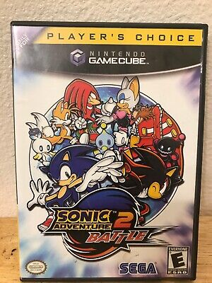 Sonic Adventure 2 Battle Nintendo GameCube Video GAME AND CASE
