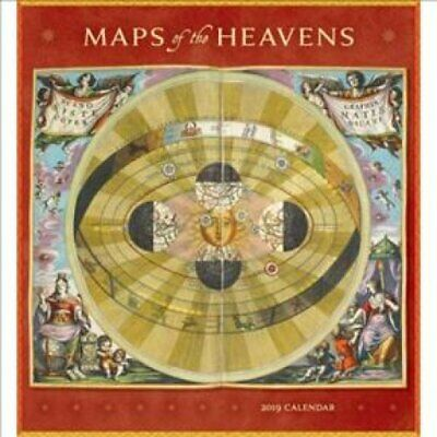 Maps of the Heavens 2019 Wall Calendar 9780764980220 (Calendar, 2018)