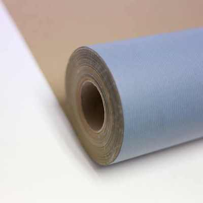 BABY BLUE Kraft Roll Wrapping Paper 55gsm projects shops 200m x 550mm gift craft