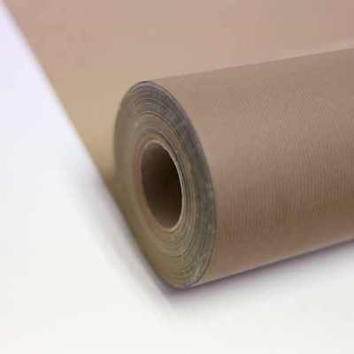 IVORY Kraft Roll Wrapping Paper 55gsm projects shops 200m x 550mm gift craft