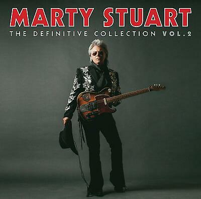 MARTY STUART 'THE DEFINITIVE COLLECTION : VOLUME 2' 3 CD Set (2019)