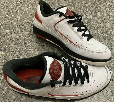 the latest 6f36a a1f17 Nike Air Jordan II 2 Retro Low CHICAGO WHITE VARS RED BLACK 832819-101 ~