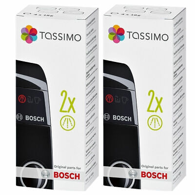 2 x Tassimo Bosch Descaling Coffee Maker Machine Descaler Cleaner Tablets 311530