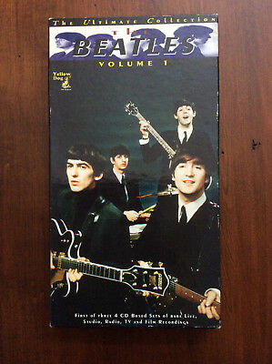 The Beatles The Ultimate Collection Volume 1 Yellow Dog 4 CD Box Set Rare