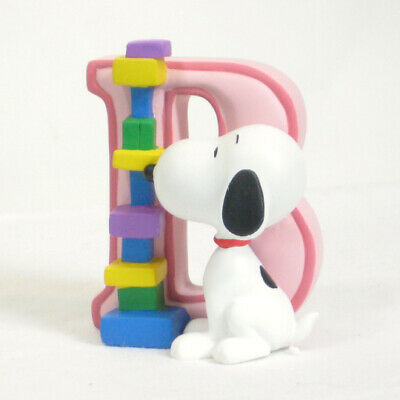 Snoopy Ornament /& Wall Hang Alphabet Letter X
