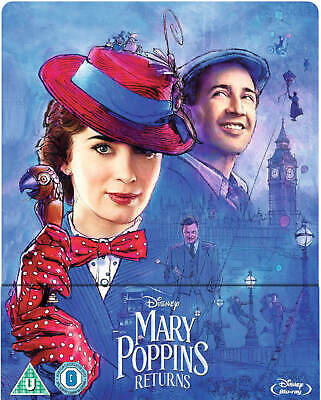 Mary Poppins Returns - Limited Edition Blu-ray Steelbook (Pre-Order)