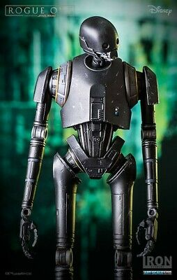 Star Wars Rogue One K-2So 1/10 Art Scale Statue By Iron Studios Disney Exclusive