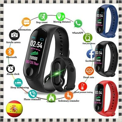 Pulsera Reloj Inteligente M3 Smart Watch Band SmartWatch Android IOS Mi 3 M